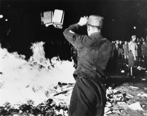 1933-may-10-berlin-book-burning, including books from Institut für Sexualwissenschaft
