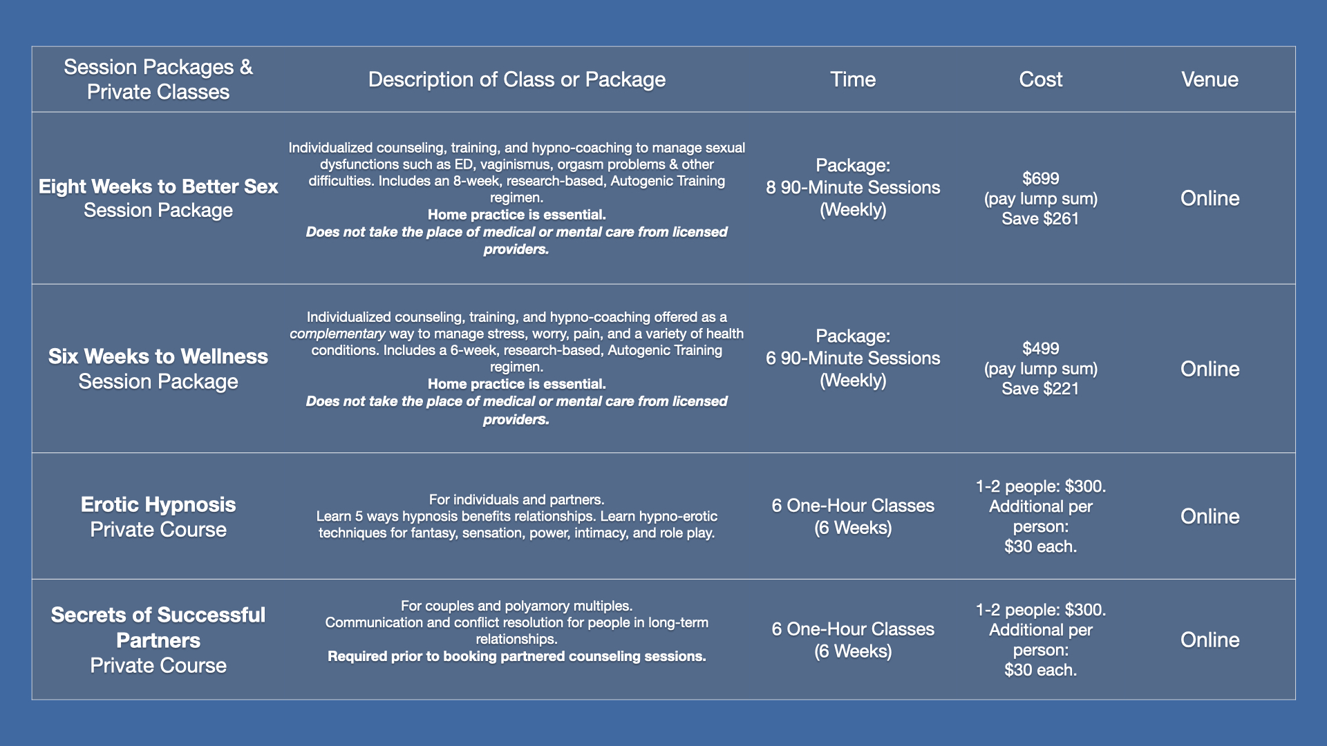 1Blue2020 Website Pages:Session & Packages copy 2.001